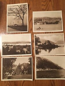 "The Mentor Association 1917 - The Story Of The Hudson - 6 Prints - 9 1/2"" X 7"""