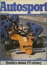 Autosport March 29th 1979 *Silverstone F2 & Monza ETCC*