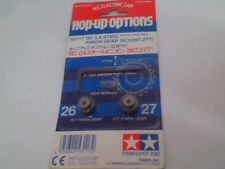 NEW Pinion Gear Set RD 0 4 26t/27t Suit Tamiya Hop Up Vintage part # 53117