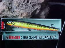 Rapala Orginal Floating F18 in HS HOT STEEL for Bass/Walleye/Pike/Pickerel