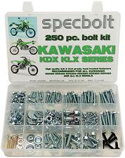 250pc Bolt Kit Kawasaki KDX175 KDX200 KDX220 KDX225 KDX250 KLX KLR110