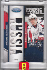 Alexander Ovechkin 2011 12 Certified Black Box Fabric Of The Game 1/1 Jersey