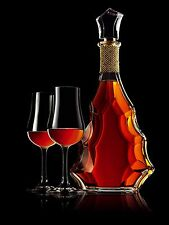 "CAMUS ""Cuvée 3.128"" Baccarat Kristall SELTEN Cognac Flasche!"