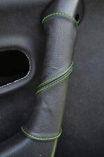 Se adapta a Mazda Mx5 Mk2 98-04 Gear Freno De Mano 2tone Negro Beige