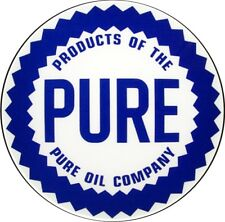 Vintage Pure Products Oil Gas Gasoline Decal - The Best