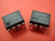 2PCS JRC4558D 4558D OPAMP OP AMPS IC's CHIP's
