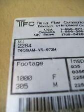 Times Fiber T6Qsiam-Vb-072M Rg-6 Quadshield Siamese Messenger Coaxial Cable