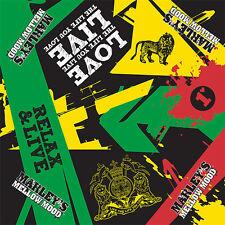 Bob Marley - Marley's Mellow Mood Bandana Cotton Jamaica Rasta Music Du Rag
