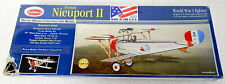 Guillow's French Nieuport II Airplane Balsa Wood Construction Model 203 Sealed