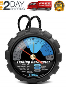 Trac Outdoors Fishing Barometer - Track Pressure Trends for Fishing Success