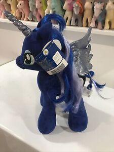 Build A Bear My Little Pony Princess Luna Unicorn Plush Pegasus Nightmare Moon