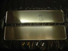 Chrome Stainless Steel Number Plate Surrounds M17/5