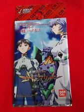 EVANGELION TRADING CARDS The Angels are back again/ 5 CARDS PACK BANDAI / UK DSP