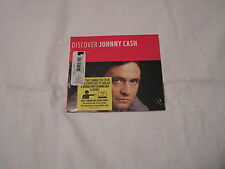 Johnny Cash Sealed CD-DISCOVER JOHNNY CASH with bonus MP3 Download