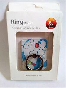DORAEMON Finger Ring Stand 360° Rotation, Universal Fit