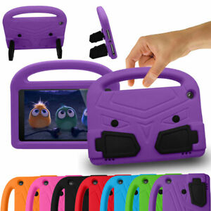 For Amazon Fire 7 HD 8 9th 8th 7th Gen Tablet Kids Shockproof Stand Case Cover