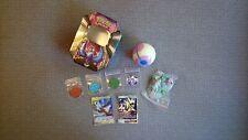 Pokemon! Rare Card, Coin & Figure Bundle In Tin
