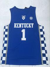 Devin Booker #1 Kentucky Wildcats Throwback Basketball Team Jersey - All Sizes