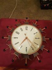 Metamec vintage  wall clock