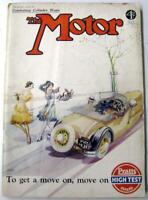 The MOTOR 21 Apr 1931 Original Motoring Car Magazine Wolseley Hornet Fiat Monaco