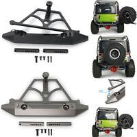 Metal Rear Bumper For 1/10 RC Axial SCX10 & SCX10 II 90046 90047 Crawler Car
