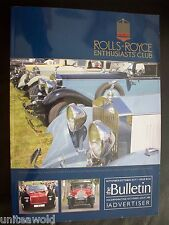 ROLLS-ROYCE ENTHUSIASTS' CLUB MAGAZINE Sept.Oct. 2014 Bentley super conditioion