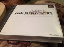 PS1 Final Fantasy Tactics JAPANESE - JAPAN IMPORT **SHIPPED From USA**