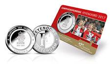 FEYENOORD  KAMPIOENSSCHAAL  2017  officiële coincard KNM.   << Oplage 8.000  >>