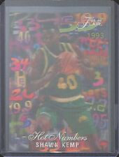 1995-96 Flair Hot Numbers No 5 Shawn Kemp