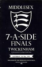 Middlesex Sevens finales 1971 @ Twickenham