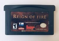REIGN OF FIRE Nintendo Game Boy Advance 2002 Action Adventure ~ GBA SP DS DSL