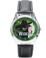 Broadway's Hit Musical Wicked Green Backing Leather Band WRIST WATCH