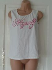 WHITE TOP BY ZARA, SIZE LARGE