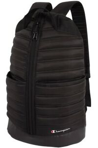 Champion Stadium Puffer Backpack One Size Black - CH1188
