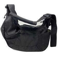 Lowepro Passport Sling Black Camera Bag, Floating Foam, Expandable