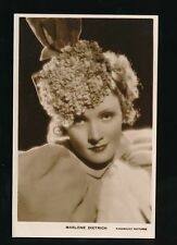 Marlene Dietrich Unposted Collectable Actress Postcards