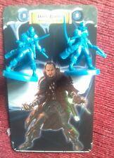 Dark Raider 2x figuras espadas & Sorcery Kickstater Boardgame hombres monstruos