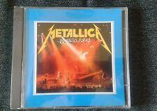 "metallica "" japanese tour 89-90 "" 2xcd live in japan 89 lp near mind"