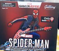 Marvel Gallery Spider-Man Spider-Punk PVC Diorama Statue Spiderman Exclusive NEW