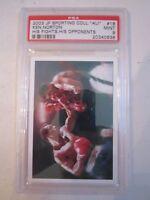 2003 MUHAMMAD ALI JP SPORTING COLL. #18 BOXING CARD PSA GRADED 9 MINT