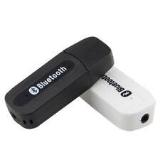 Bluetooth Audio de Voiture Récepteur de Musique Mains libres Micro 3.5mm jack