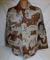 Desert Storm 6 Color Chocolate Chip BDU Shirt Small Short 50/50  New DCU