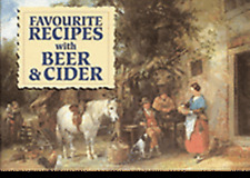 New.FAVOURITE RECIPES with BEER &.Salmon Recipe Book.