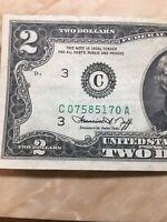 U.S. Currency Series 1976 RARE $2 Dollar Bill in Great Shape (Philadelphia)