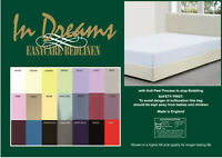 """SHORTY BED 2'6""""x 5'9"""" 75 x 175cm FITTED SHEET 10"""" box  21 colours POLYCOTTON"""
