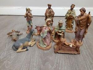 Digiovanni By Autom Polymer Nativity Set All Figurines Included