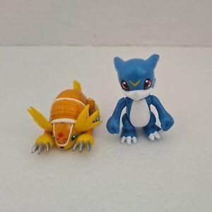 Veemon & Armadillomon Figures Digimon Bandai 2000 Action Figures