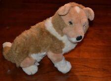 Vintage Avanti Collie Dog Plush Sitting Pup Applause 1986 Tag Item No. 1054