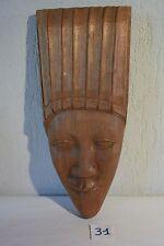 C31 Ancien masque africain en bois tribal