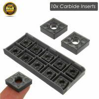 10 x Wendeplatten CNMG 120408-TF IC907 CNMG432-TF für Edelstahl CNC Drehmaschine